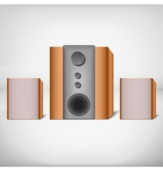 Speakers with subwoofer vector