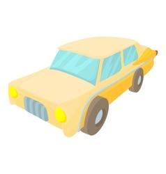 Car icon cartoon style vector