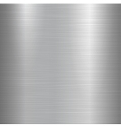 Metallic polished background vector image vector image