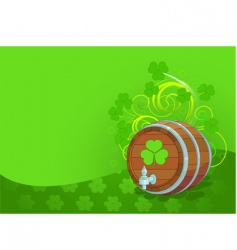 St Patrick's Day design vector image vector image