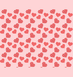 theme pattern valentines day vector image vector image