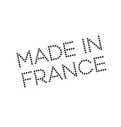 Made in france rubber stamp vector