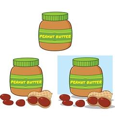 Cartoon peanuts vector image
