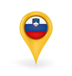 Location slovenia vector