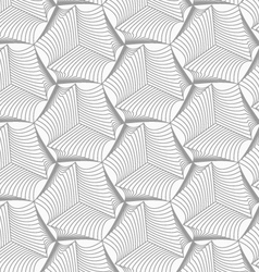 Slim gray sea shells vector