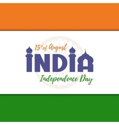 Independence day background india vector