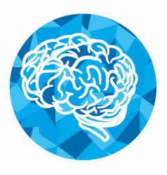 brain storming concept icon vector image