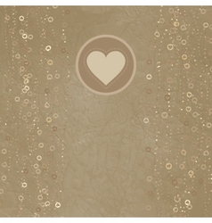Valentines day card design EPS 8 vector image vector image
