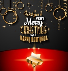 2015 new year and happy christmas background for vector