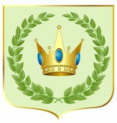 Crown symbol vector