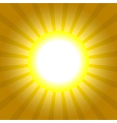 Sun Rays Pattern Absctract background vector image vector image
