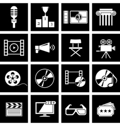 Movie icon vector
