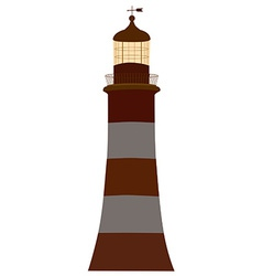 Old lighthouse vector