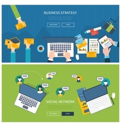 Concepts for business analysis consulting vector