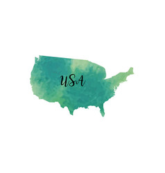 Abstract usa map vector