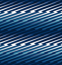 Blue abstract lightning seamless pattern vector