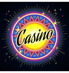 casino night vector image vector image