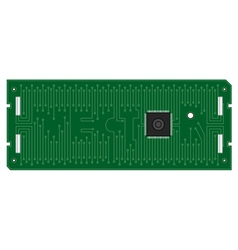 electronic board Computer vector image