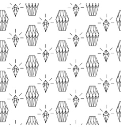Linear diamond seamless pattern wrap vector