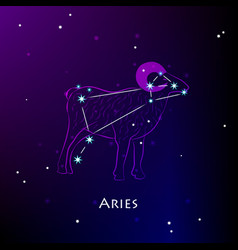 aries vector image