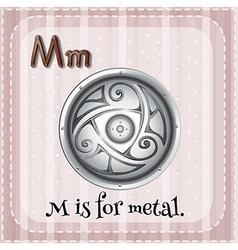 Metal vector