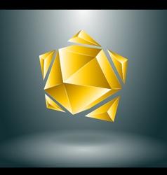 Sun star concept vector image vector image