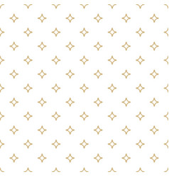 white and gold ornamental seamless pattern vector image vector image