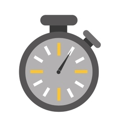 Analog chronometer icon image vector