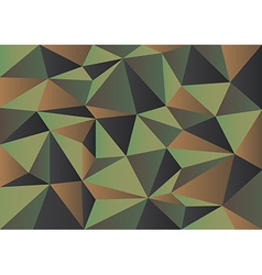 Green camouflage polygon background vector