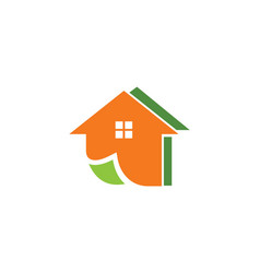 Home realty colored logo vector