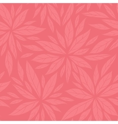 Monochrome seamless floral decorative pattern vector