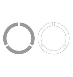 Data sign grey set icon vector
