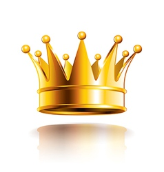 object crown vector image