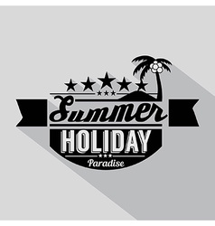 Summer design badge vector