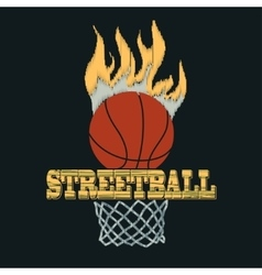 Basketball t-shirt - vector