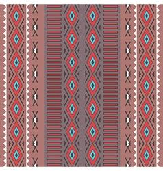 Tribal boho seamless pattern with rhombus vector