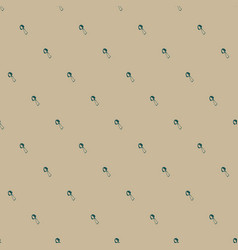hand drawn seamless pattern with mushrooms vector image vector image