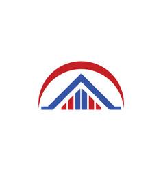House building logo vector