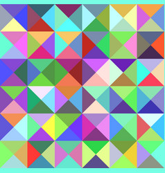 Pyramid pattern background - mosaic from triangles vector