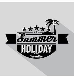 Summer Design Badge vector image