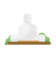 buddha religion vector image