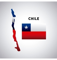 Chile country design vector