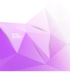 abstract background Origami geometric vector image