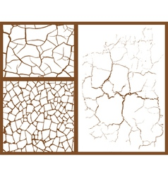 Cracked set vector