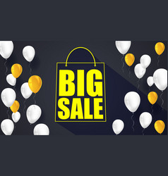 Big sale text banner ready to print and use in vector