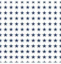 Seamless pattern with white stars vector image vector image