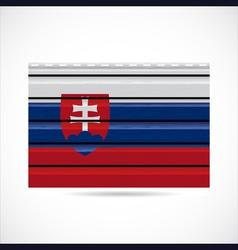 siding produce company icon slovakia vector image vector image