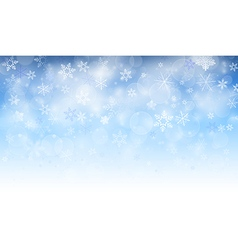 snowy background vector image
