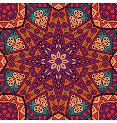 Abstract tribal ethnic pattern ornamental vector