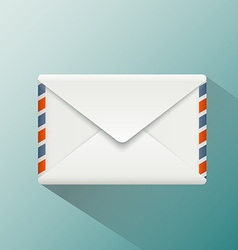 Envelope style flat graphics vector image vector image